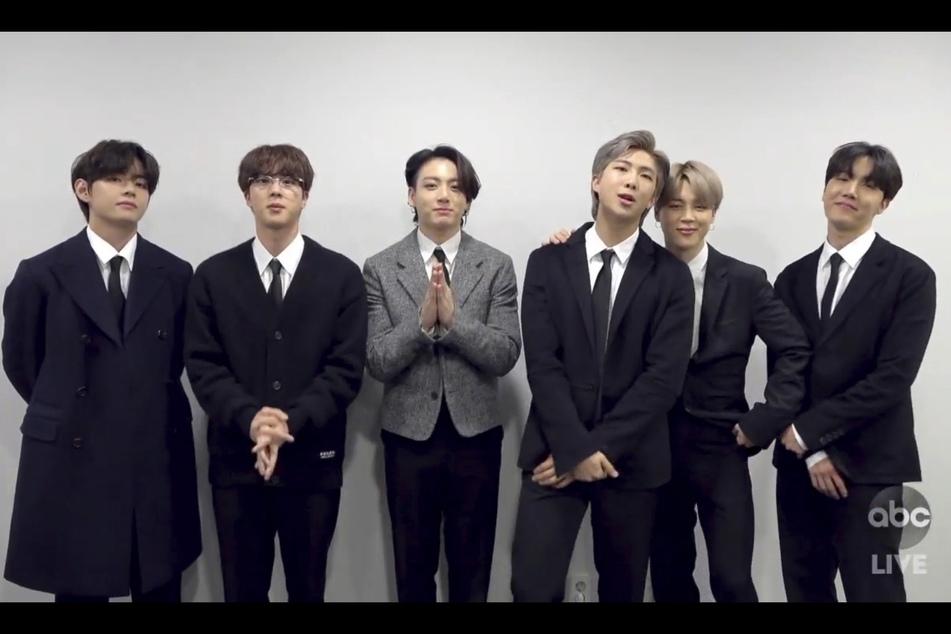 Die Jungs von BTS bei den American Music Awards 2020