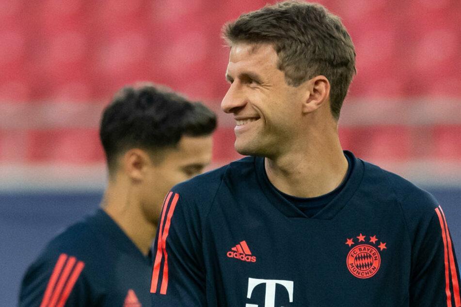 Bayern-Star Thomas Müller zeigt sich von der Entwicklung des Teams begeistert. (Archiv)