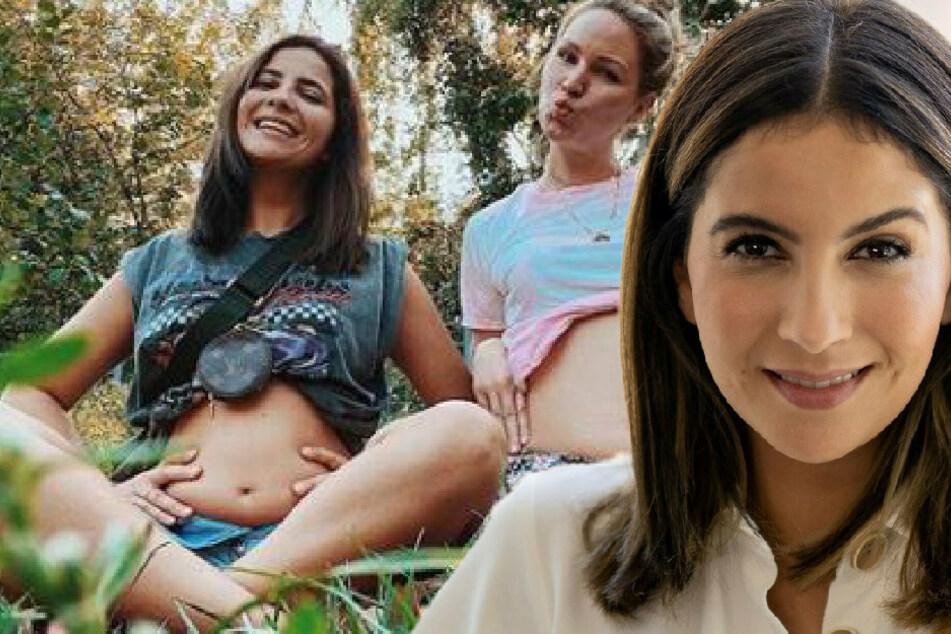 Chryssanthi Kavazi zeigt ihren After-Baby-Body und hat eine wichtige Botschaft