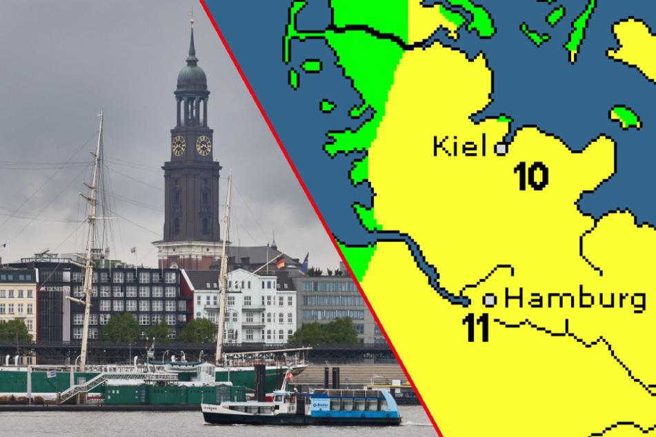 Bibbern statt Wonnemonat Mai? So wird das Wetter in Hamburg