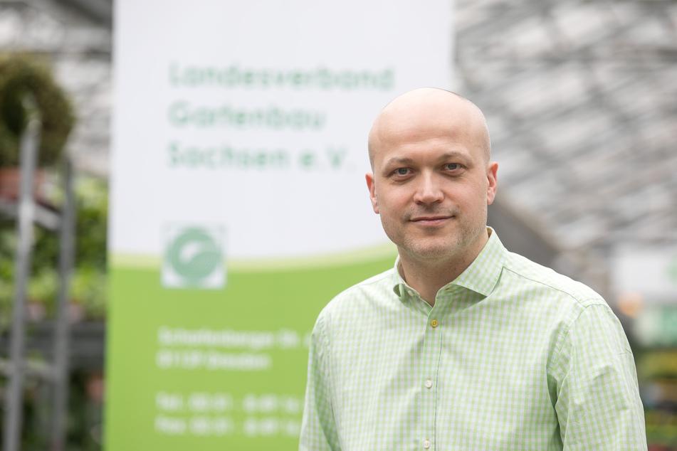 Tobias Muschalek (44) ist der Geschäftsführer des Gartenbauverbands Mitteldeutschland (GMD).