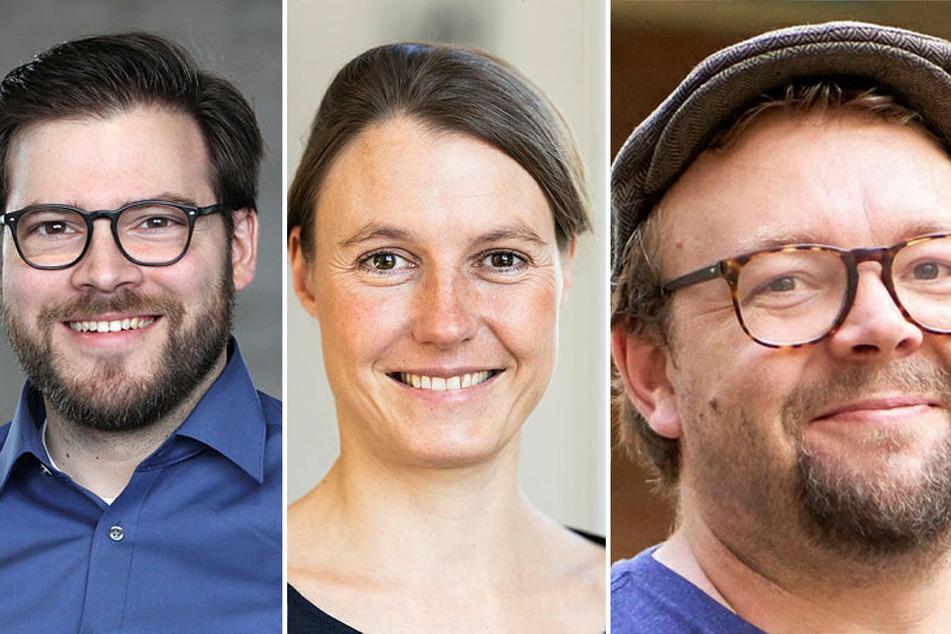 (V.l.n.r.): Steffen Rulands (37), Ruth Stassart (39) und Jonathan Rodenfels (38).