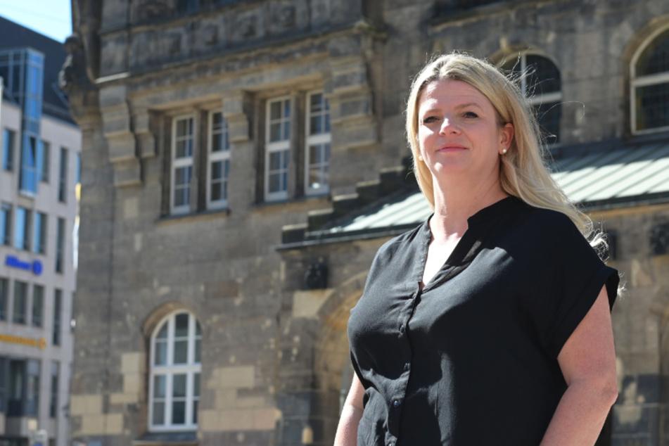 Susanne Schaper (42, Linke) will am Donnerstag bekanntgeben, ob sie im zweiten Wahlgang zur Chemnitzer Oberbürgermeisterwahl antritt. Eigentlich war die Bekanntgabe für Mittwoch geplant.