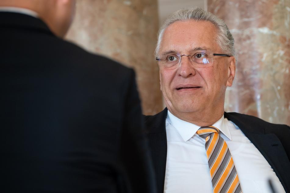 Joachim Herrmann (CSU), Innenminister von Bayern. (Archivbild)