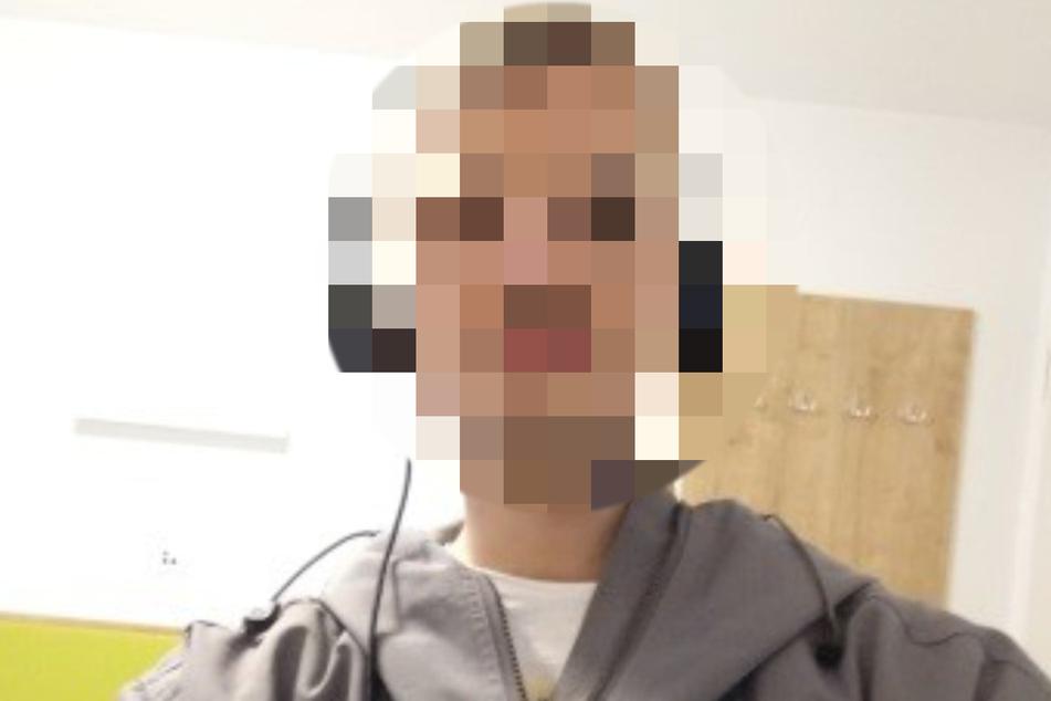 Mit Kopfhörern unterwegs: Sebastian C. (22) ist wieder da