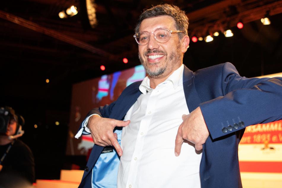 Claus Vogt (51) wurde im Dezember 2019 zum Präsidenten des VfB Stuttgart gewählt und stellt sich auf der kommenden Mitgliederversammlung zur Wiederwahl.