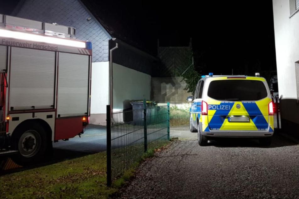 Mann (42) stirbt bei Hausbrand, mutiger Zeuge wollte ihn noch retten