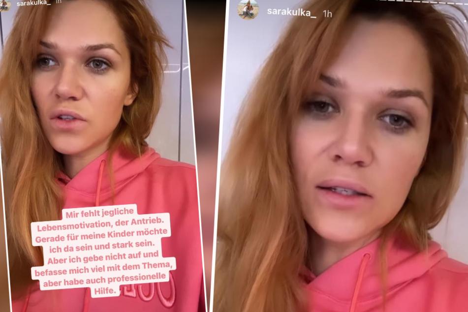 Sara Kulka hat wieder einmal ihren Instagram-Kanal genutzt, um auf ein äußerst ernstes Thema zu sprechen zu kommen. Dieses Mal ging es um die Depression, an der sie bereits seit Längerem leidet.