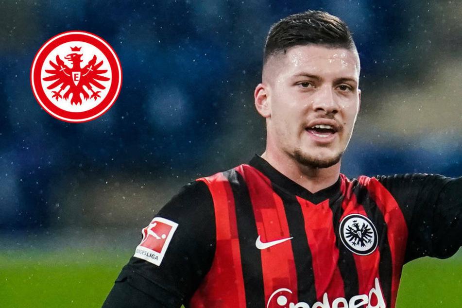 Das sagt Luka Jovic über Verbleib bei Eintracht Frankfurt