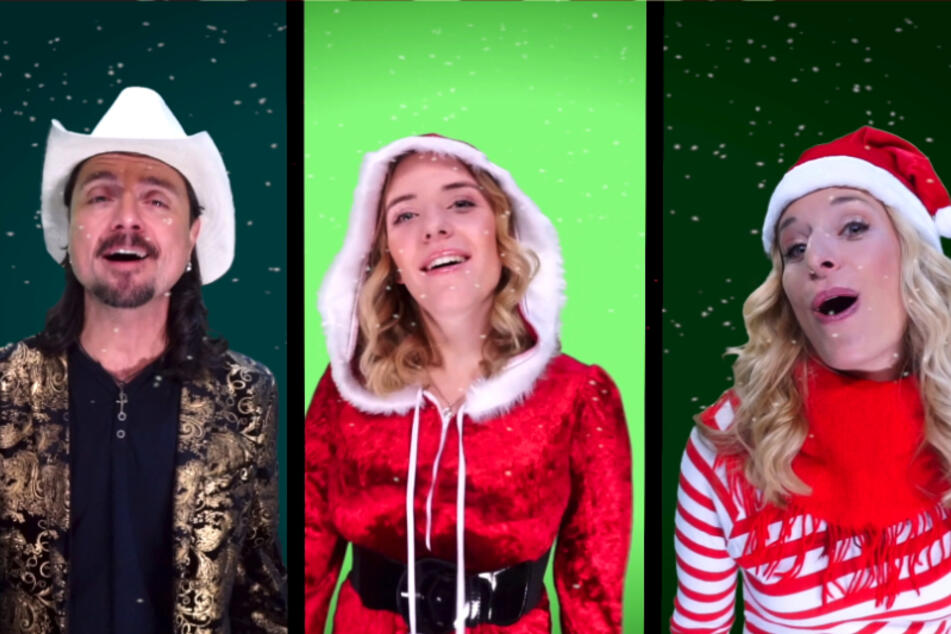 Wenn da keine Weihnachtsstimmung aufkommt: Ausschnitte aus dem neuen Weihnachtsvideo.