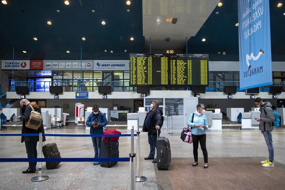 """Internationale Reisen mit dem Ziel """"Internationaler Flughafen Vilnius"""" (Litauen) sind nun wieder möglich."""