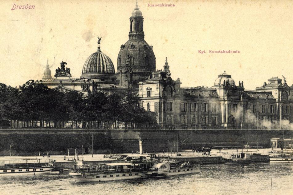 So sah es in Dresden vor langer Zeit aus.