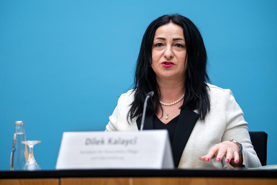 Gesundheitssenatorin Dilek Kalayci setzt sich für eine Übernahme der Co-Finanzierung durch das Land Berlin ein.