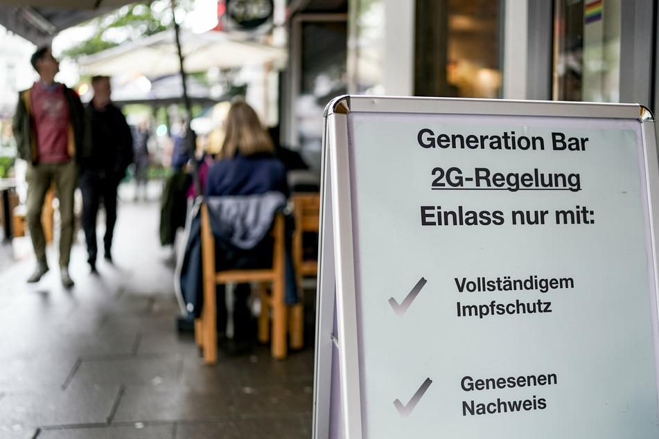 Das könnte auch bald auf Thüringen zukommen: die 2G-Regel für Restaurants und Cafés.