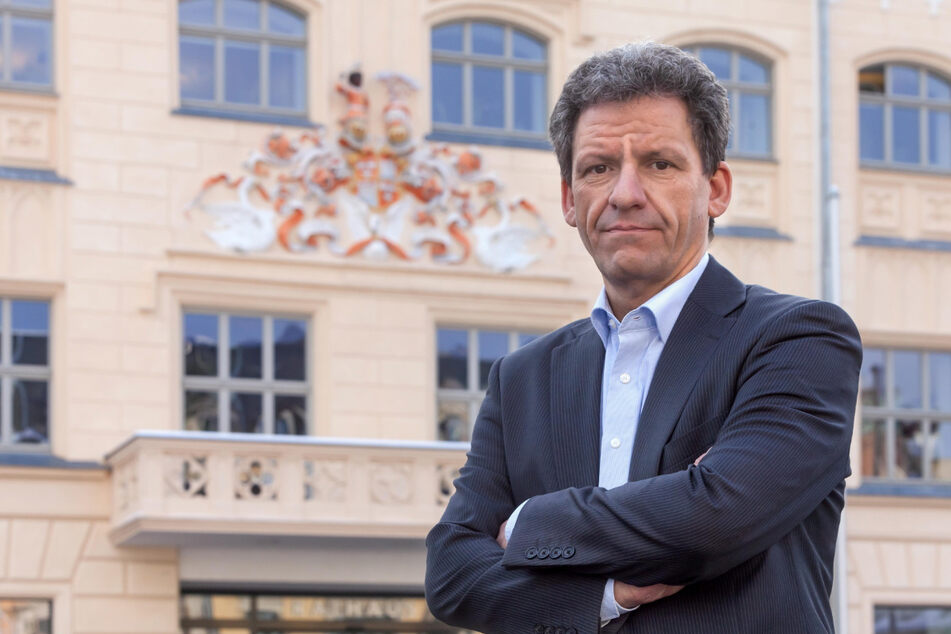Stadtsprecher Mathias Merz bittet die Zwickauer um Vorsicht.