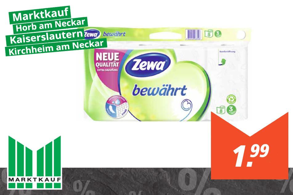 Zewa Toilettenpapier für 1,99 Euro