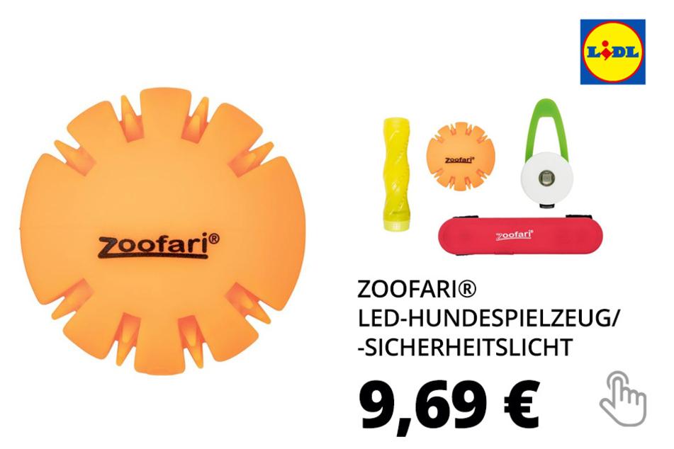 ZOOFARI® LED-Hundespielzeug/-sicherheitslicht