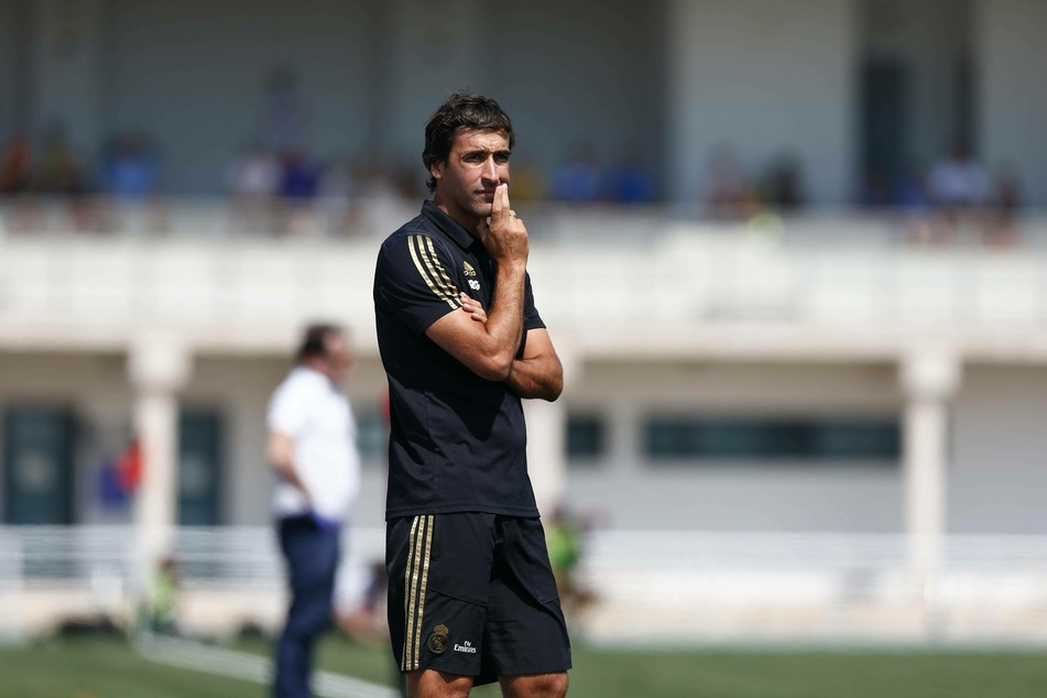 Derzeit trainiert der ehemalige Weltklasse-Stürmer Raúl (43) die zweite Mannschaft von Real Madrid.