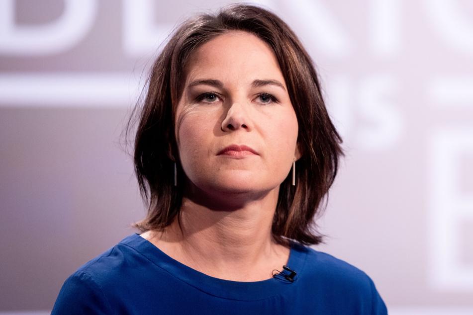 Grünen-Kanzlerkandidatin Annalena Baerbock (40) am Sonntag beim ARD-Sommerinterview.
