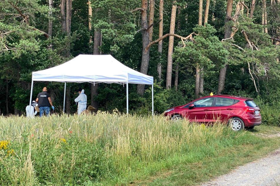 Der Leichnam der 23-Jährigen wurde in einem Waldstück bei Oberrimbach entdeckt.