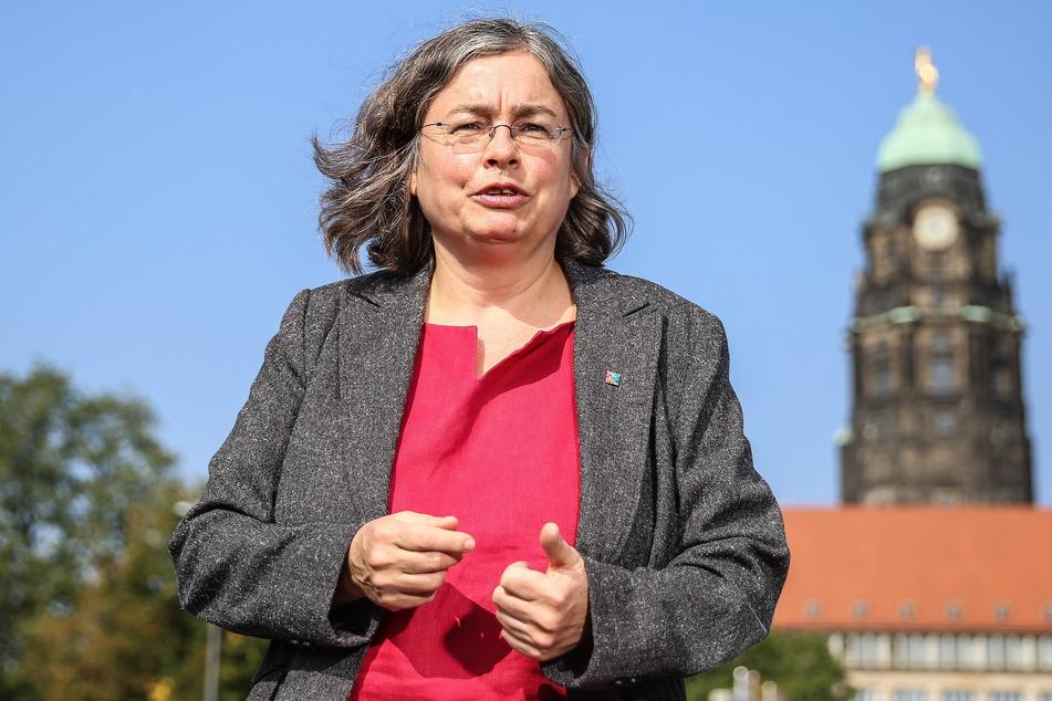 Umweltbürgermeisterin Eva Jähnigen (55, Grüne) will die Dresdner beim neuen Klimaschutzkonzept mitnehmen.