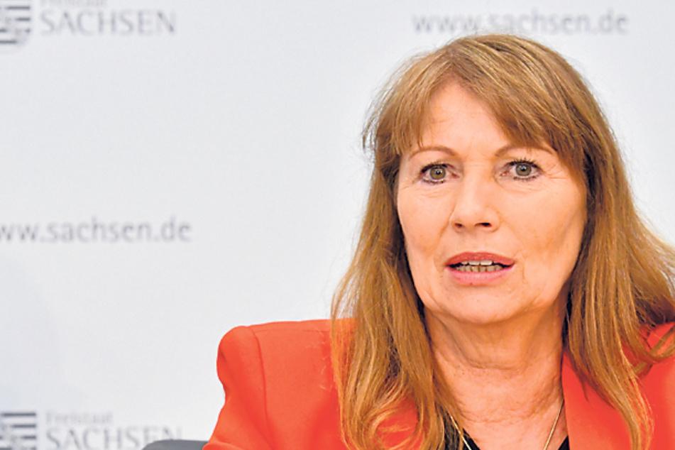 Ministerin verteidigt Straffreiheit für Sachsens Mundschutz-Muffel