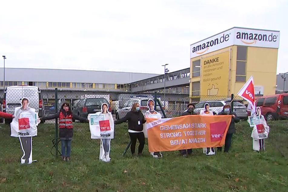 Leipzig: Ausgerechnet in der Black Week! Verdi bestreikt Amazon in Leipzig