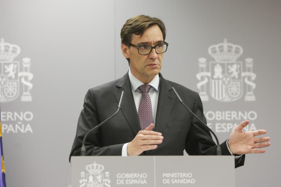 Spaniens Gesundheitsminister Salvador Illa (53).