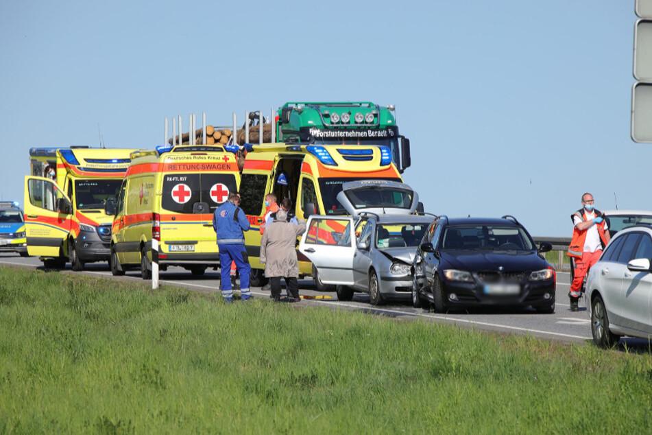 Der Rettungsdienst war schnell vor Ort.