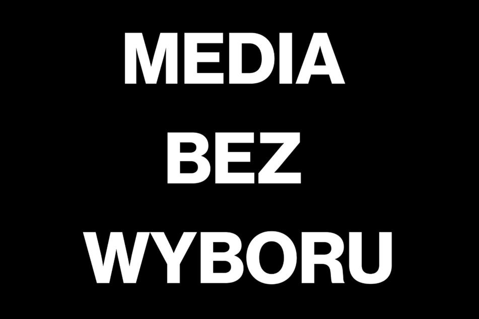 """""""Medien ohne Wahl"""": In Polen wehren sich zahlreiche Vertreter der freien Medien gegen die geplante Werbesteuer der PiS-Regierung."""