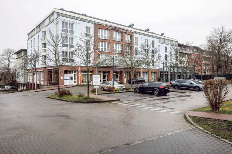 """Das """"Courtyard Marriott"""" an der Stauffenbergallee ist momentan zu fast 40 Prozent ausgelastet."""