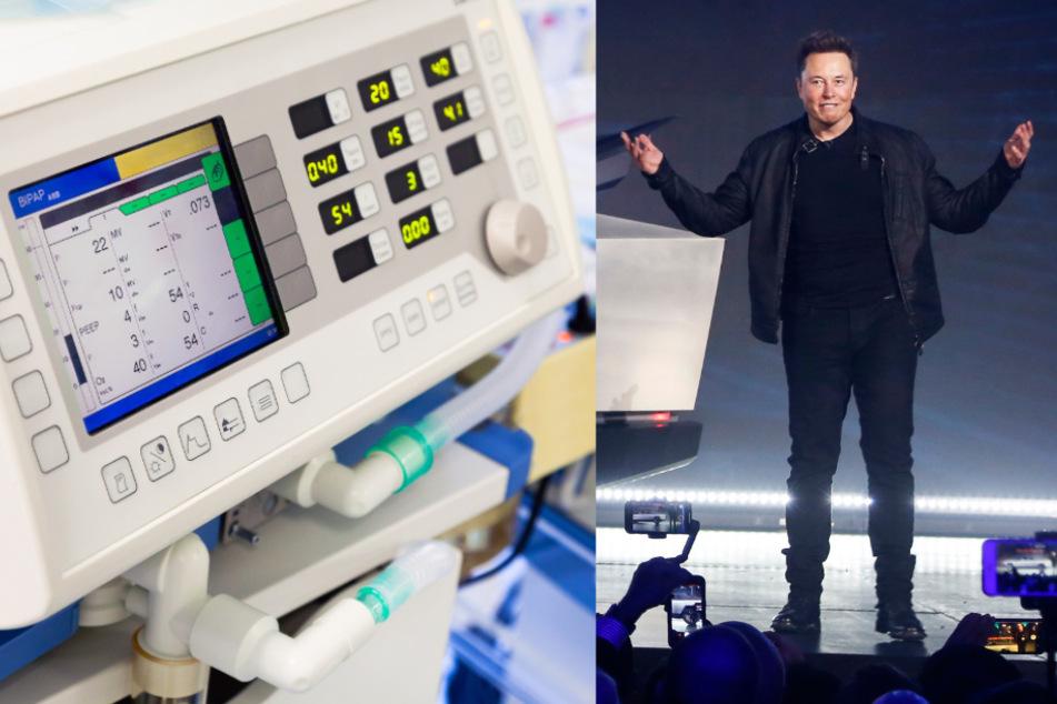 Vollmundiges Versprechen: So will Tesla-Chef Elon Musk Corona-Kliniken helfen