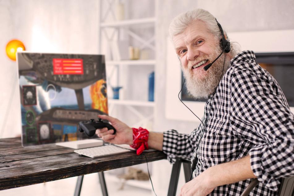 Statt altem Eisen werden die Gamer eher zu alten Hasen. (Symbolbild)