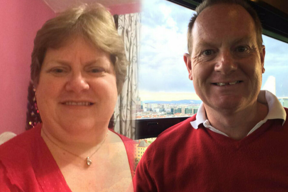 Der Ingenieur Allan und seine Frau Rachel lächeln in die Kamera.