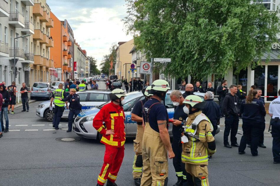 Berlin: Nach Großbrand in Mietergarage: Wohnhaus wegen Einsturzgefahr geräumt!