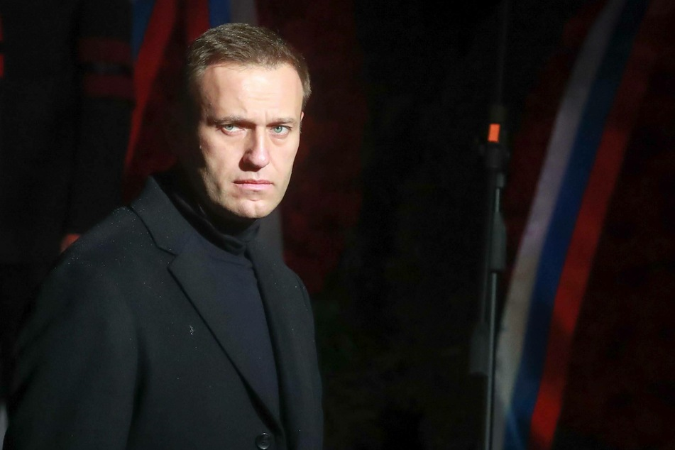 The Russian opposition leader Alexei Navalny (44).