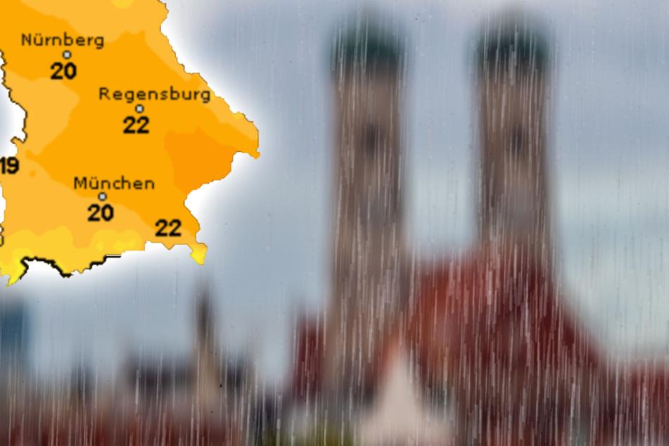 Wetter in Bayern: Wann verdrängt die Sonne den Regen?