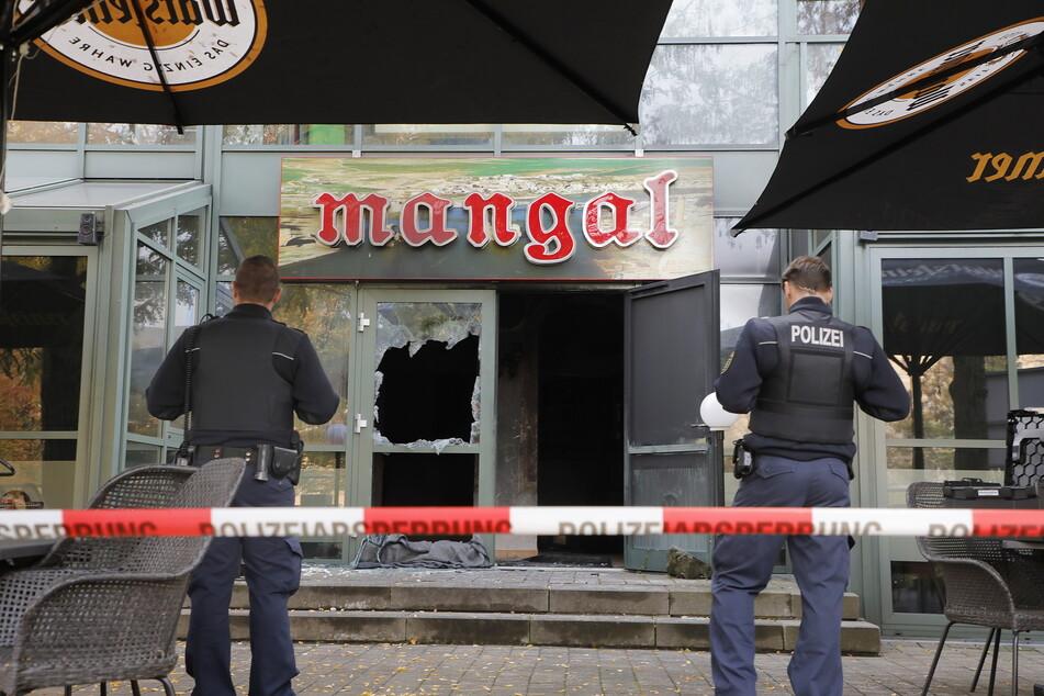 Gastronom Ali T. (49) soll 2018 sein Restaurant niedergebrannt und die Versicherung betrogen haben. Danach schob er die Tat mutmaßlich Rechtsextremisten in die Schuhe.