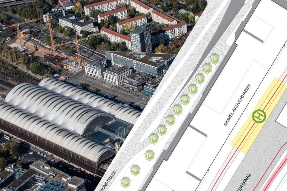 Dresden: Mit nur 31 Jahren Verspätung: Das wird Dresdens neuer Busbahnhof!