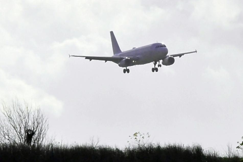 In der Nähe von Görlitz landete am Montagmittag ein Airbus A320 einer estländischen Airline.