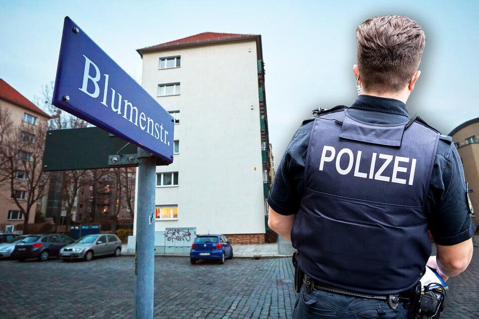 Auf der Blumenstraße in der Dresdner Johannstadt wurde das teure Fahrrad gestohlen. Die Polizei ermittelt nun.