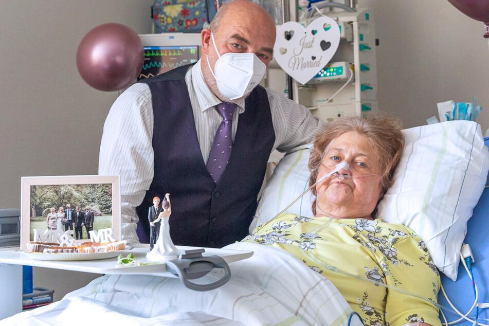 Hochzeit im Krankenhaus: Schwerkranke gibt Ja-Wort auf Intensivstation!