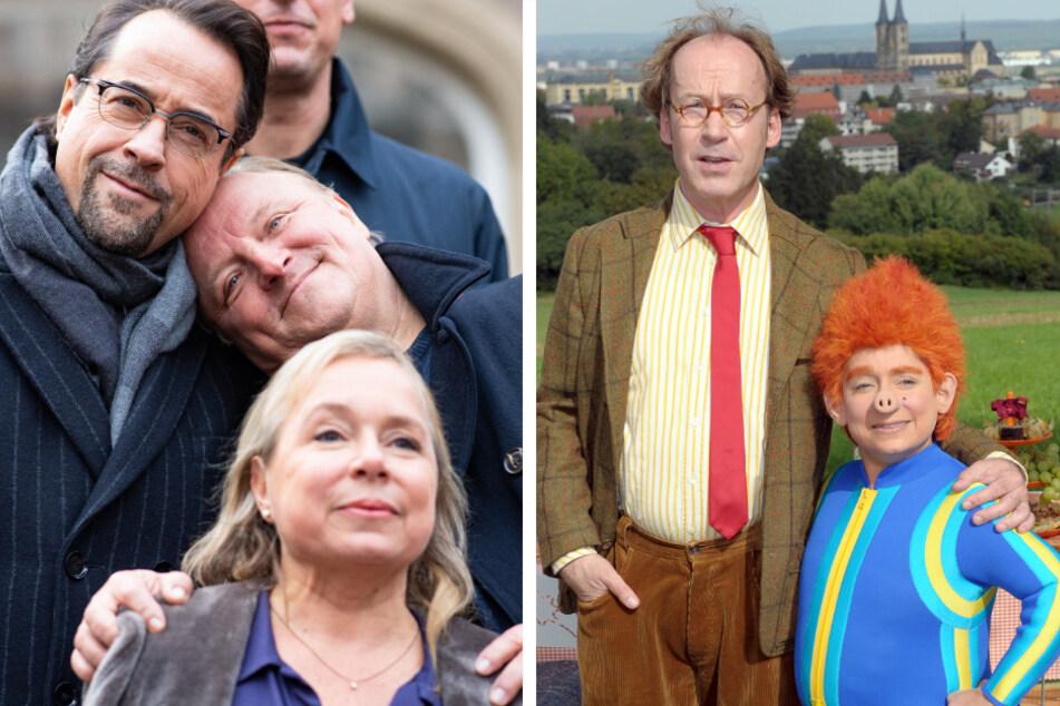 """Unter anderem in diesen Rollen kennt man Christine Urspruch (50): als Rechtsmedizinerin Silke Haller im Münsteraner Tatort und als das """"Sams"""" aus dem beliebten Kinderfilm. (Archivbilder)"""