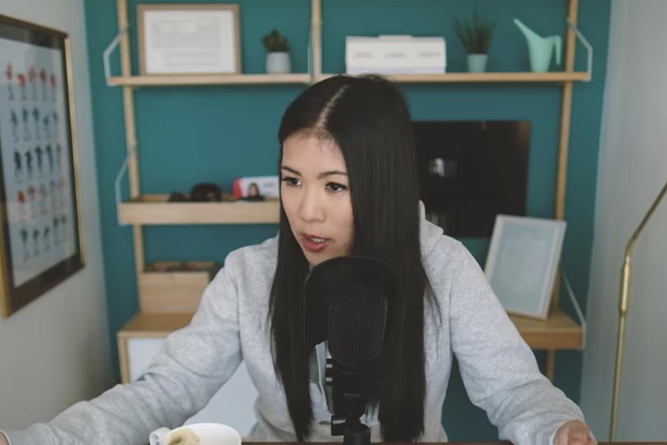 Der Screenshot zeigt eine Sequenz aus dem viral gegangenen YouTube-Video von Mai Thi Nguyen-Kim, das mittlerweile über vier Millionen Klicks hat.