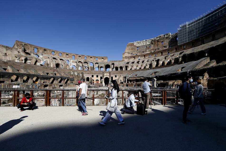 Das Kolosseum in Rom gilt seit jeher als Hotspot für Touristen.
