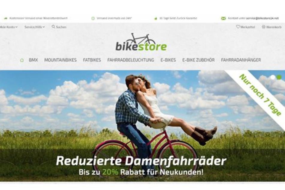 """Der Fake-Shop """"bikestore24.net"""" soll den Betrügern Zehntausende Euro eingebracht haben."""