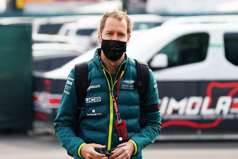 Sebastian Vettel (33) vom Team Aston Martin stieg in der letzten Runde vorzeitig aus.