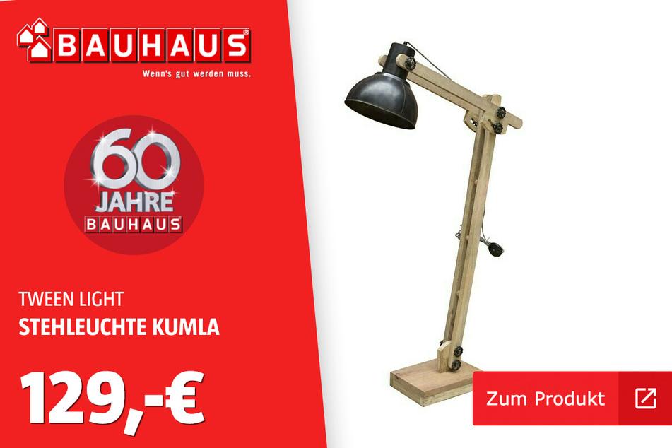 Stehleuchte 'Kumla' für 129 Euro.