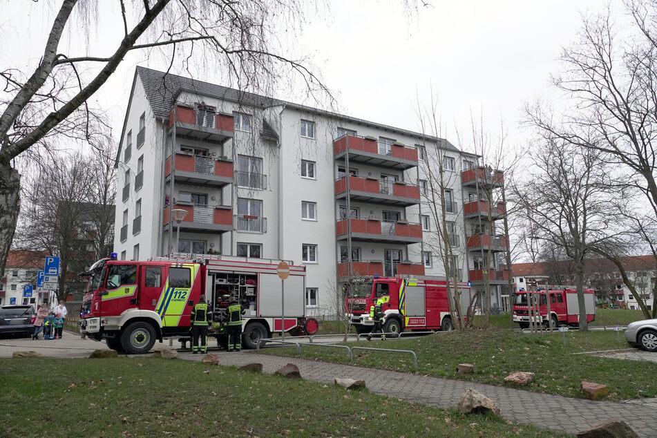 Chemnitz: Verpuffung! Feuerwehreinsatz in Chemnitz