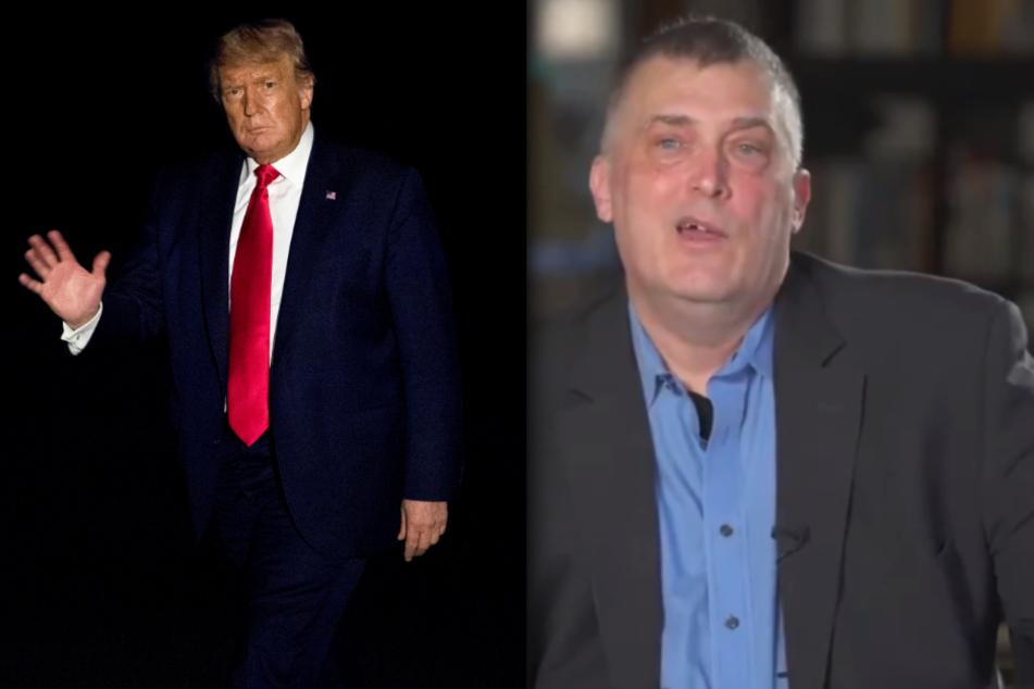 Immer mehr Republikaner sprechen sich in krassen Video-Clips offen gegen Donald Trump und für Joe Biden aus, darunter auch der Ex-Militär Jack Spielman (r).
